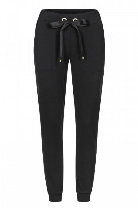 Spodnie Comfty Black - Spodnie dresowe czarne