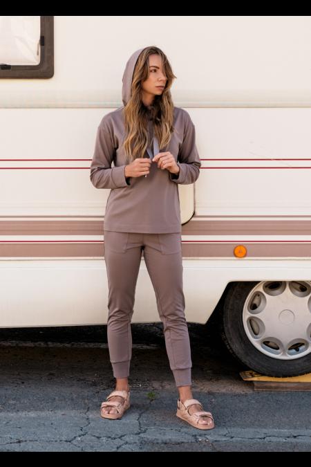 Spodnie Comfty Coffee