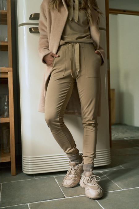 Spodnie Comfty Beige