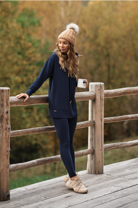 Bluza Comfty Long Navy